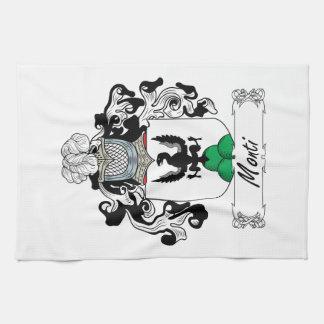 Monti Family Crest Kitchen Towels