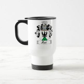 Monti Family Crest 15 Oz Stainless Steel Travel Mug