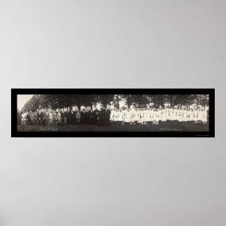 Monti Iowa Class Photo 1913 Poster