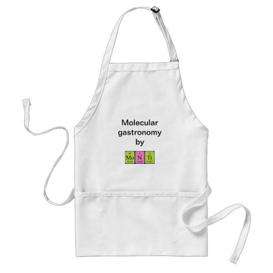 Monti periodic table name apron