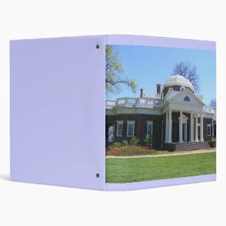 Monticello Binder