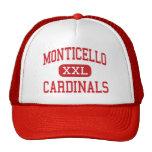 Monticello - Cardinals - Cleveland Heights Trucker Hat