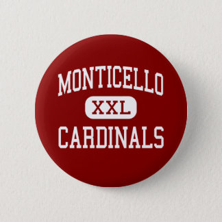 Monticello - Cardinals - Cleveland Heights Pinback Button