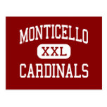 Monticello - Cardinals - Cleveland Heights Postcard