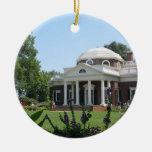 Monticello Christmas Ornament