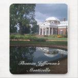 Monticello de Thomas Jefferson Tapetes De Ratón