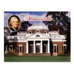Monticello, el hogar de Jefferson, Virginia Postal