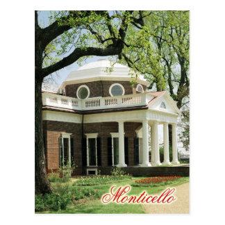 Monticello, el hogar de Jefferson, Virginia Postales