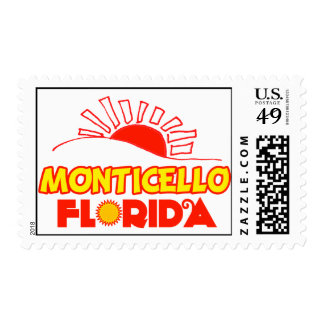 Monticello, Florida Postage Stamp