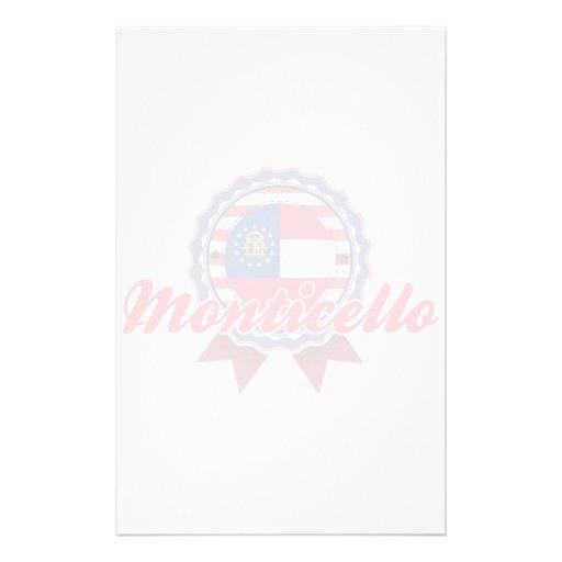 Monticello, GA Personalized Stationery