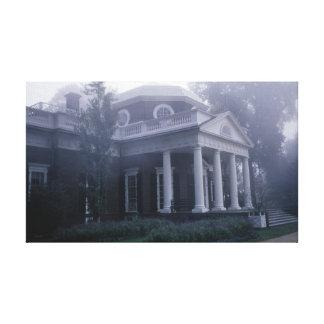 Monticello Jefferson s Home Virginia Canvas Print
