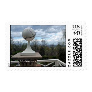 Monticello Sundial Postage