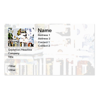 Monticello - Thomas Jefferson's Home in Virginia Double-Sided Standard Business Cards (Pack Of 100)