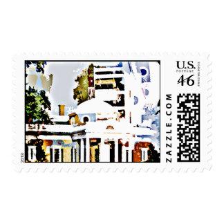 Monticello - Thomas Jefferson's Home in Virginia Stamps