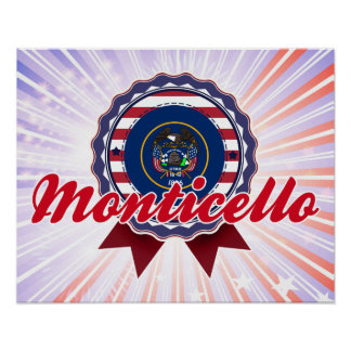 Monticello, UT Print