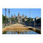 Montjuic, Barcelona, españa Postales
