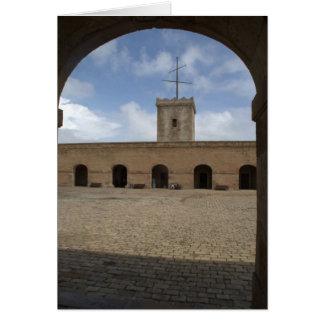 Montjuic Castle, Barcelona Card