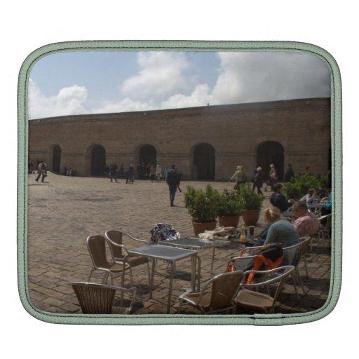 Montjuic Castle, Barcelona iPad Sleeve