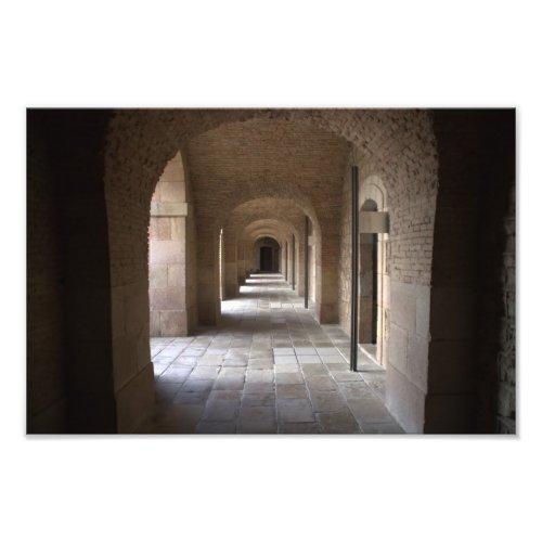 Arcade of Montjuic Castle, Barcelona