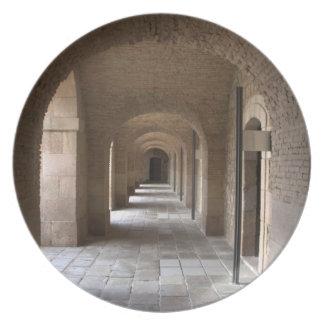 Montjuic Castle, Barcelona Plate