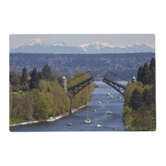 Montlake Bridge and Cascade Mountains Placemat
