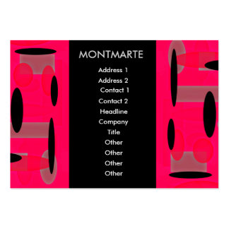 Montmarte, Maybe Retro Business Card