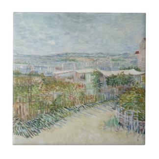 Montmartre Azulejo Cuadrado Pequeño