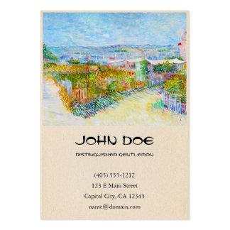 Montmartre - behind the Moulin de la Galette Business Card