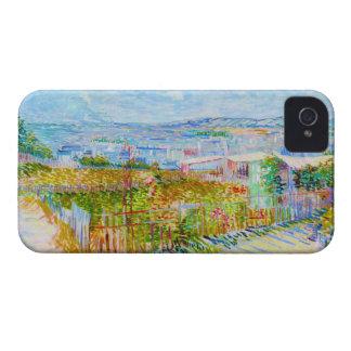 Montmartre - behind the Moulin de la Galette iPhone 4 Case-Mate Case