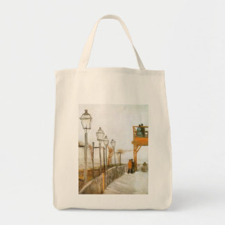 Montmartre by Vincent van Gogh, Vintage Fine Art Tote Bag