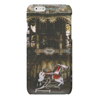 Montmartre Carousel, Paris Travel Photograph Matte iPhone 6 Case