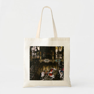 Montmartre Carousel, Paris Travel Photograph Tote Bag