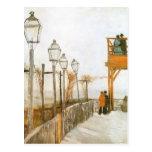 Montmartre de Van Gogh, arte del impresionismo del Postales