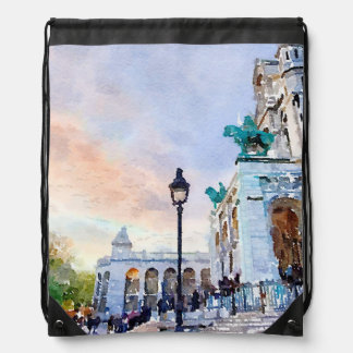Montmartre Drawstring Bag
