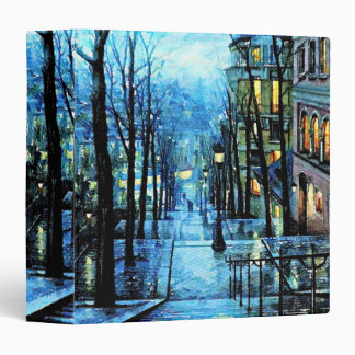 "Montmartre en la noche carpeta 1 1/2"""