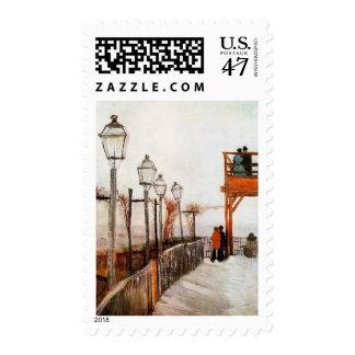 Montmartre (F272) Van Gogh Fine Art Stamp