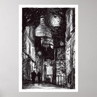 Montmartre I Poster