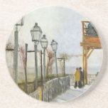 Montmartre in the upper Mill by Vincent van Gogh Drink Coaster