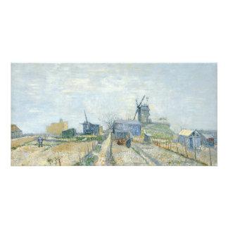Montmartre Mills and Vegetable Gardens by Van Gogh Card