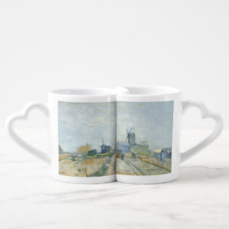 Montmartre Mills and Vegetable Gardens by Van Gogh Coffee Mug Set