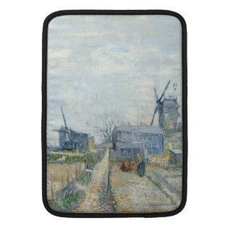 Montmartre Mills and Vegetable Gardens by Van Gogh Sleeves For MacBook Air