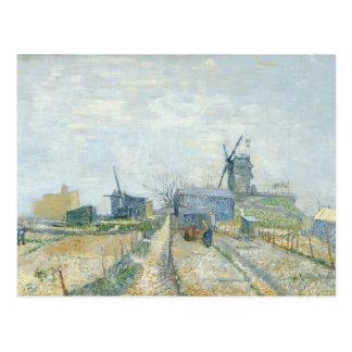 Montmartre: molinoes de viento y asignaciones postal
