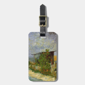 Montmartre Path with Sunflowers by Van Gogh. Bag Tag