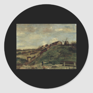Montmartre: Quarry, the Mills Classic Round Sticker