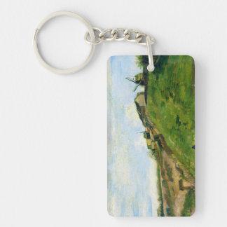 Montmartre Quarry Windmills Vincent Van Gogh Keychain