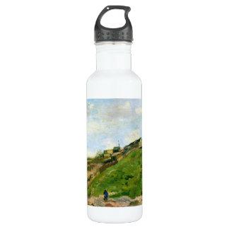 Montmartre Quarry Windmills Vincent Van Gogh Stainless Steel Water Bottle