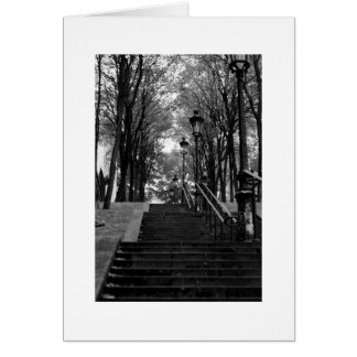 Montmartre Staircase Card