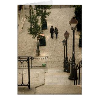 Montmartre Steps Card