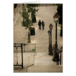Montmartre Steps Card Greeting Cards