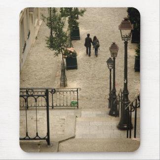 Montmartre Steps Mousepad